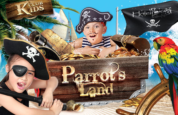 Parrot's Land games and activities