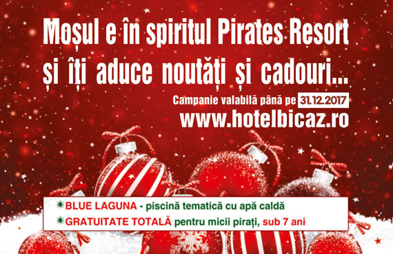 Moșul e în spiritul Pirates Resort  ...