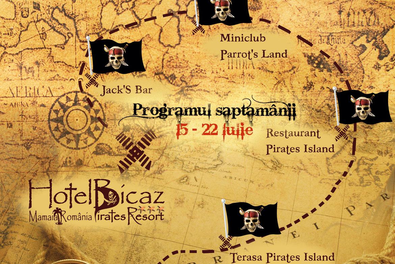 Programul săptămânii 15-22 Iulie