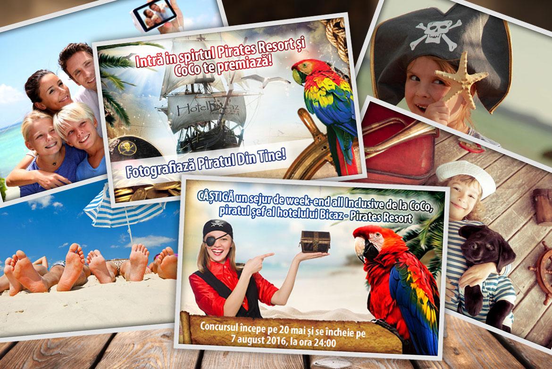Intră în spiritul Pirates și CoCo te premiază!