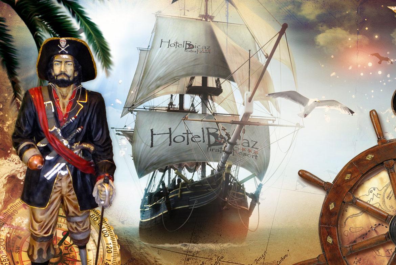 Jack Sparrow la Mamaia