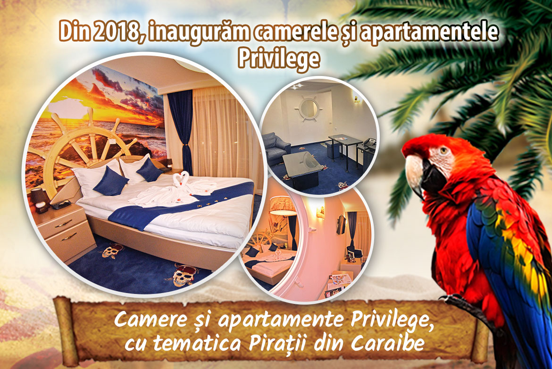 Noile camere și apartamente Privilege